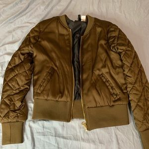 H&M Army Green Bomber Jacket (worm once)
